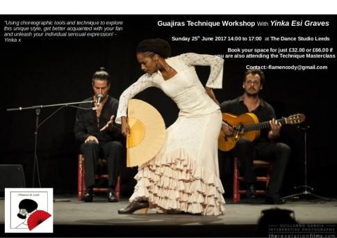 Guajiras technique poster