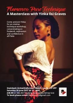 Yinka Flamenco A6 Flyer(1)