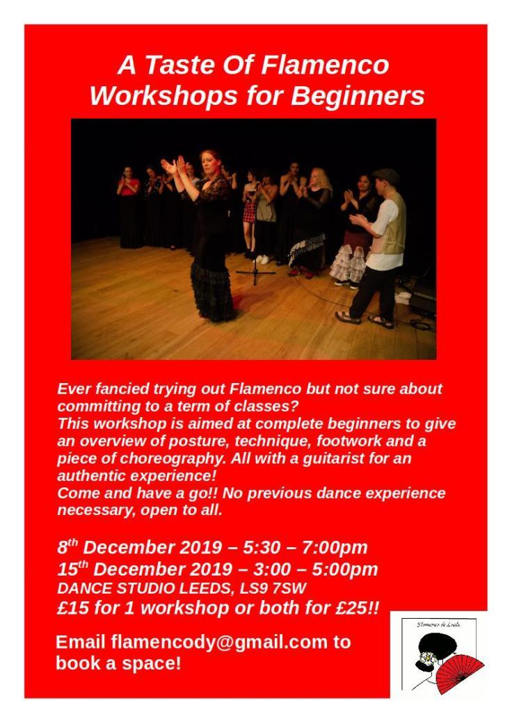 Taste of Flamenco poster